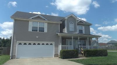 Clarksville TN Single Family Home For Sale: $170,500