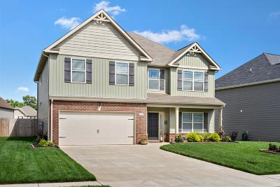 Clarksville Single Family Home For Sale: 913 Tanager Ct