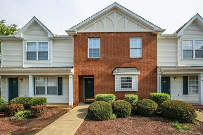 Murfreesboro Condo/Townhouse For Sale: 306 Arapaho Dr