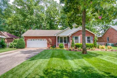 Smyrna Single Family Home For Sale: 111 Hermitage Dr