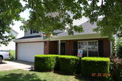 Single Family Home For Sale: 943 Lavergne Ln