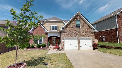 Smyrna Single Family Home Active Under Contract: 4011 Paperbirch Dr