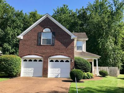 Franklin Single Family Home For Sale: 3219 Calvin Ct