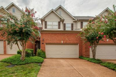 Brentwood  Condo/Townhouse Active Under Contract: 641 Old Hickory Blvd Unit 45 #45