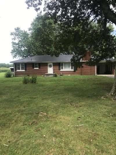 Lawrenceburg Single Family Home For Sale: 1110 Mattox Town Rd
