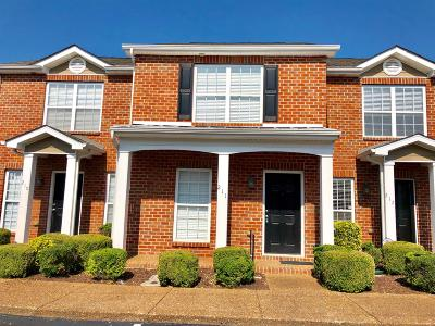 Smyrna Condo/Townhouse Active Under Contract: 211 Stewarts Landing Cir