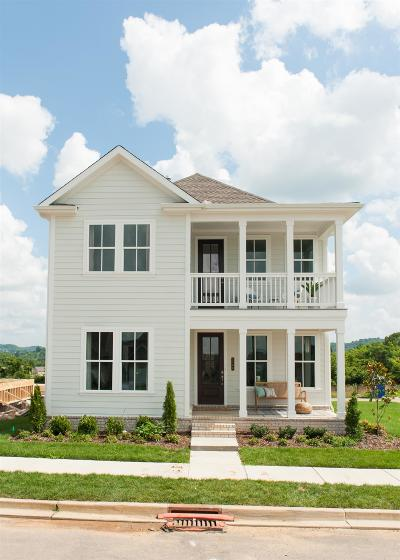 Thompsons Station Single Family Home For Sale: 2258 Mayfield Circle Lot 1774