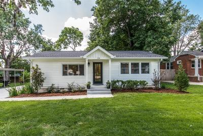 Franklin Single Family Home For Sale: 314 Bel Aire Dr