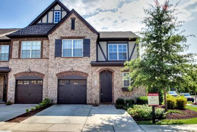 Thompsons Station Condo/Townhouse For Sale: 2001 Bungalow Dr