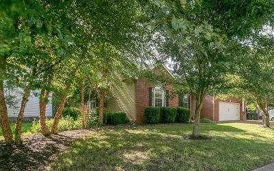 Franklin Single Family Home Active Under Contract: 1218 Kelly Ct