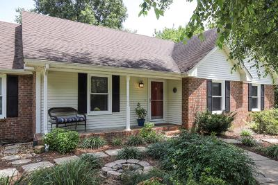 Hendersonville Single Family Home Active Under Contract: 1605 Newmans Trl