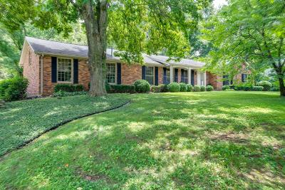 Brentwood Single Family Home For Sale: 1224 Parker Pl