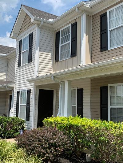 Murfreesboro Condo/Townhouse Active Under Contract: 1404 Orange Ct