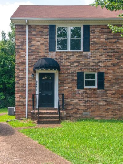 Nashville Single Family Home For Sale: 622 Alison Ct