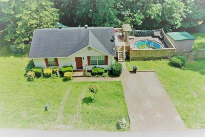 Sumner County Single Family Home Active Under Contract: 1028 Hollis Ln