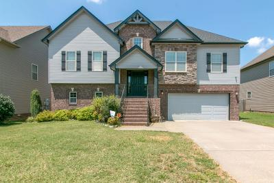 Clarksville Single Family Home For Sale: 756 Cavalier Dr
