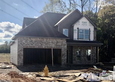 Clarksville Single Family Home For Sale: 9 Reserve At Sango Mills