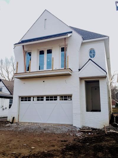 Nashville Single Family Home For Sale: 1923A Castleman Dr