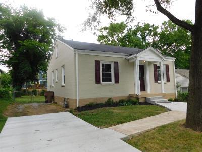 East Nashville Single Family Home For Sale: 3709 Burrus St
