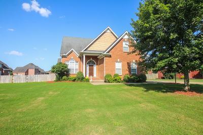 Rockvale Single Family Home For Sale: 2132 Salem Woods Dr