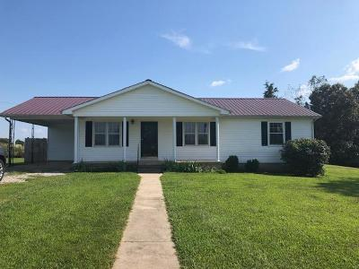 Decherd Single Family Home For Sale: 3319 Penile Hill Rd
