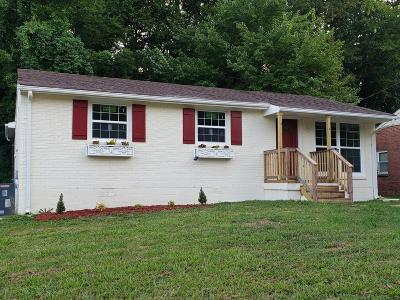 Nashville Single Family Home For Sale: 1468 Snell Blvd