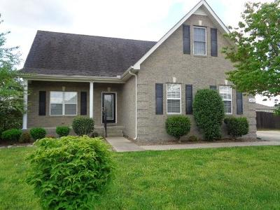Rutherford County Rental For Rent: 4911 Pillar Drive