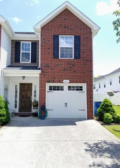 Smyrna Condo/Townhouse Active Under Contract: 300 Southside Dr