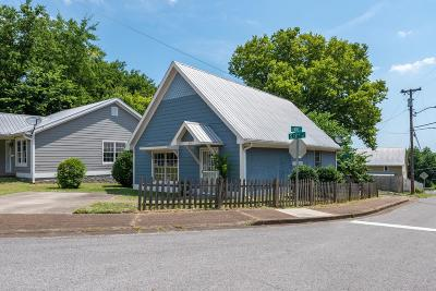 East Nashville Single Family Home Active Under Contract: 811 S 12th St