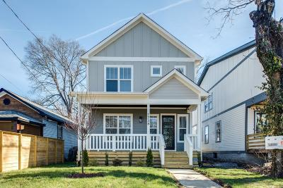 Nashville Single Family Home Active Under Contract: 2100 15th Ave N A