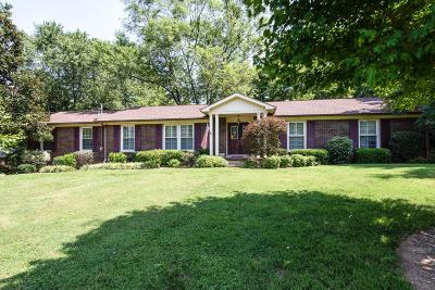 Brentwood Single Family Home Active Under Contract: 8106 Vaden Dr