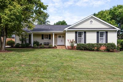 Franklin Single Family Home Active Under Contract: 605 Riverview Dr