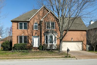 Franklin TN Single Family Home Active Under Contract: $425,000