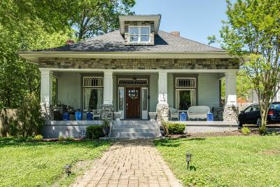 Nashville Single Family Home For Sale: 3 Waters Ave