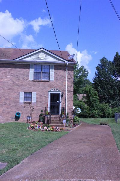 Nashville Single Family Home For Sale: 712 Clearwater Ct