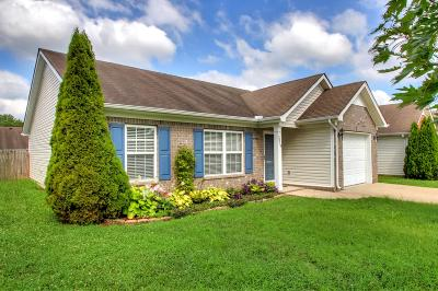 Spring Hill Single Family Home Active Under Contract: 3019 Deer Trail Dr