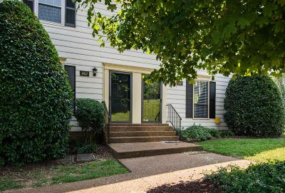 Brentwood Condo/Townhouse Active Under Contract: 702 Fox Ridge Dr