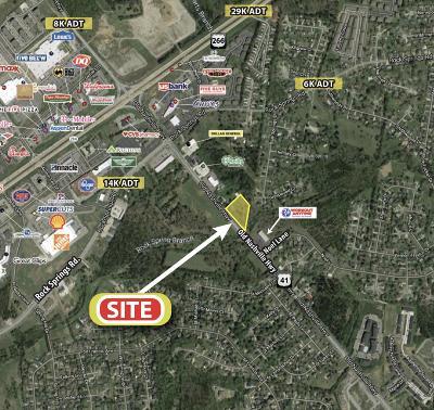 Smyrna Commercial For Sale: 13850 Old Nashville Hwy