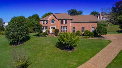 Old Hickory Single Family Home For Sale: 815 Overhills Dr