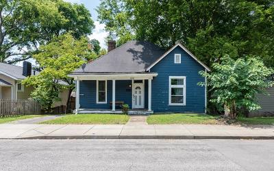 East Nashville Single Family Home Active Under Contract: 830 N 2nd St