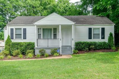 Nashville Single Family Home Active Under Contract: 2204 Sandra Dr