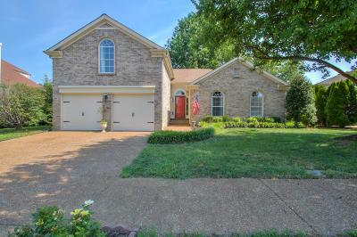 Franklin Single Family Home Active Under Contract: 1106 Summer Haven Cir