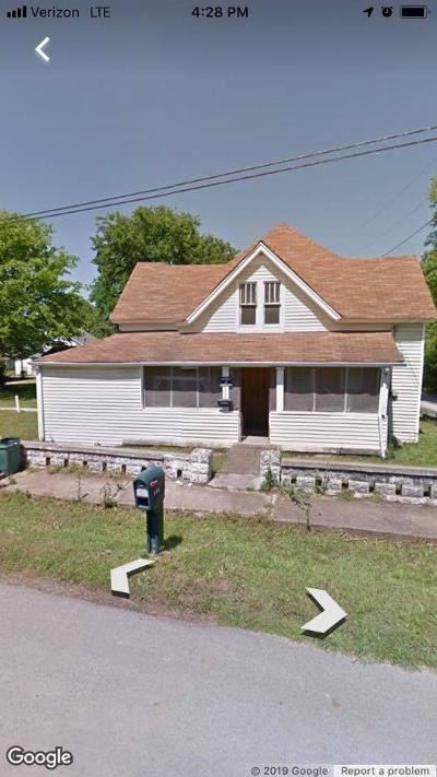 Maury County Single Family Home For Sale: 405 Railroad St