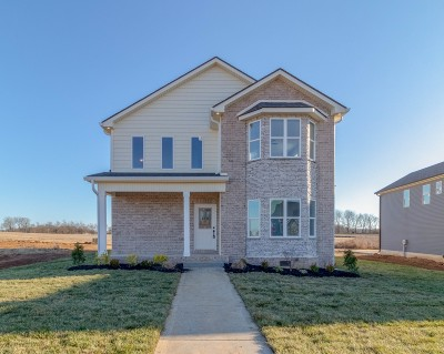 Christian County, Ky, Todd County, Ky, Montgomery County Single Family Home For Sale: 128 Hickory Wild