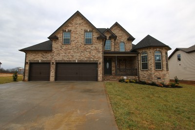 Single Family Home Active Under Contract: 73 Griffey Estates