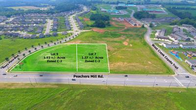 Clarksville Commercial For Sale: 9 Peachers Mill Rd