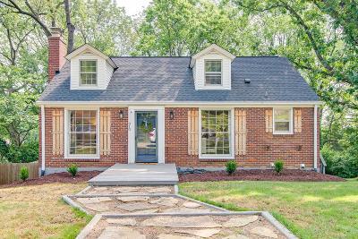 Nashville Single Family Home For Sale: 810 Neartop Dr