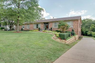 Old Hickory Single Family Home For Sale: 212 Rolling Mill Rd
