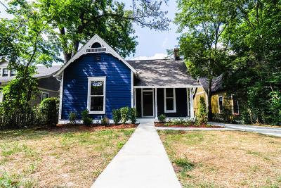 East Nashville Single Family Home For Sale: 1703 Forrest Ave