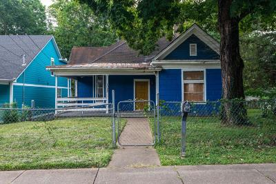 East Nashville Single Family Home Active Under Contract: 1022 Sharpe Ave